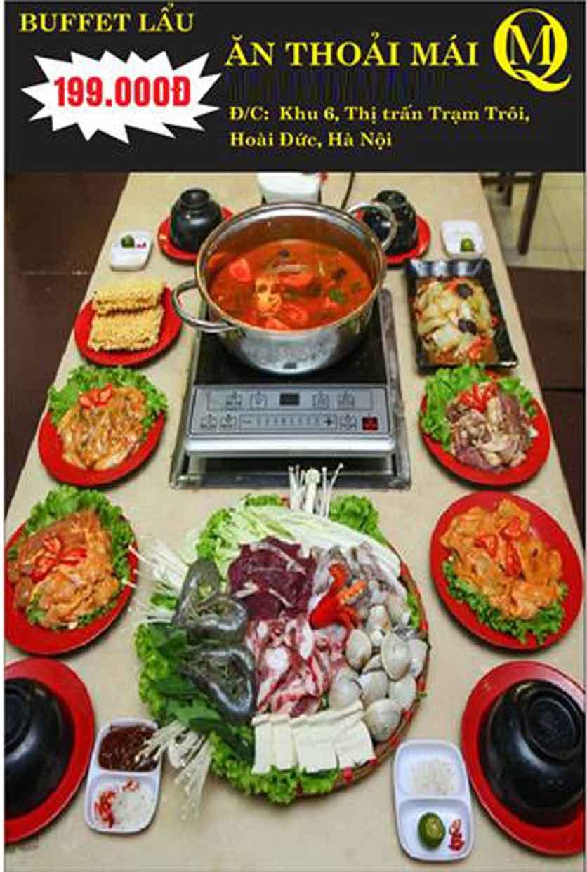 Menu Koishi BBQ - Đại Từ 3