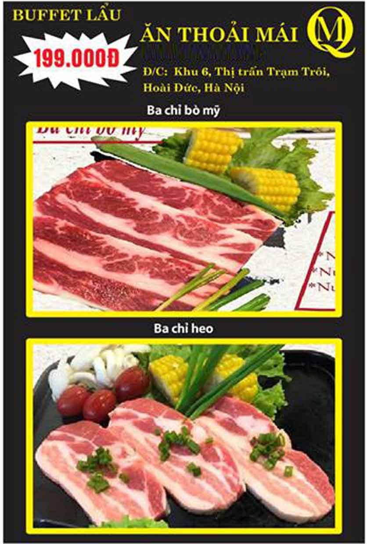 Menu Koishi BBQ - Đại Từ 4