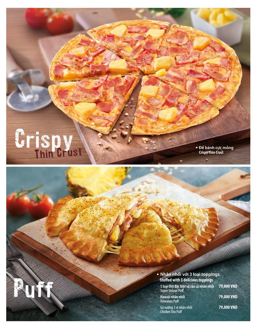 Menu The Pizza Company - Phạm Văn Đồng 10