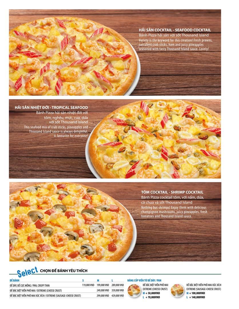 Menu The Pizza Company - Phạm Văn Đồng 14