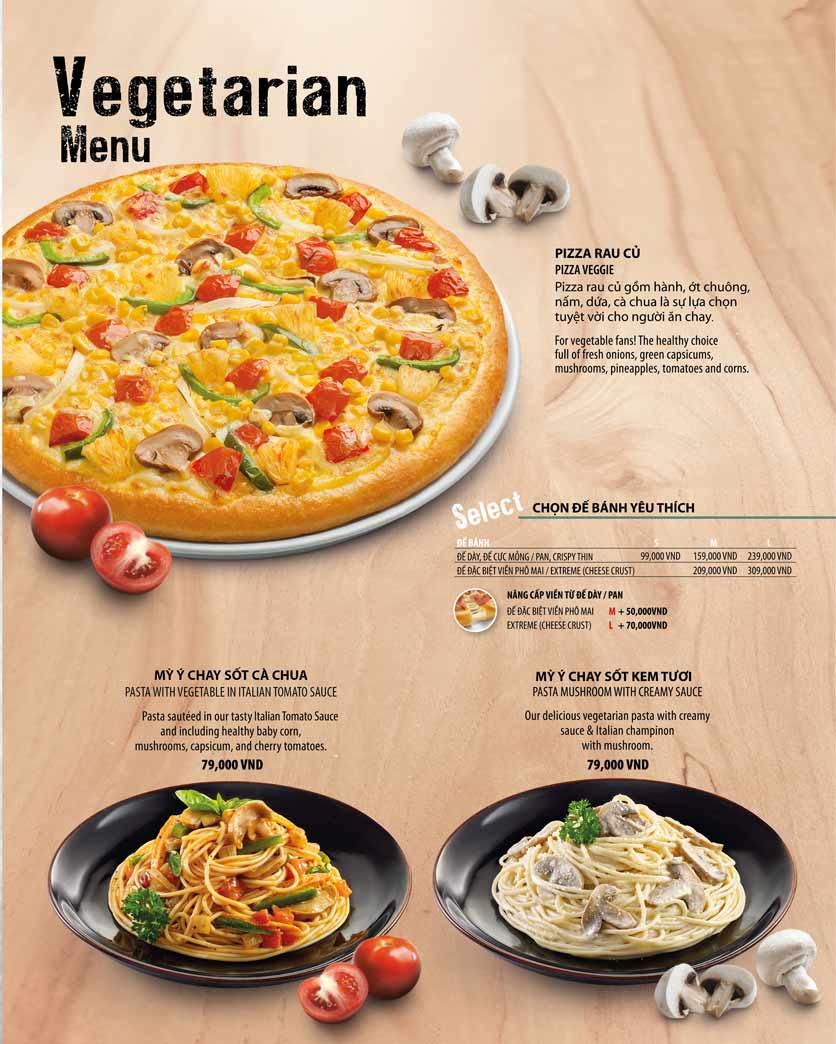 Menu The Pizza Company - Phạm Văn Đồng 20