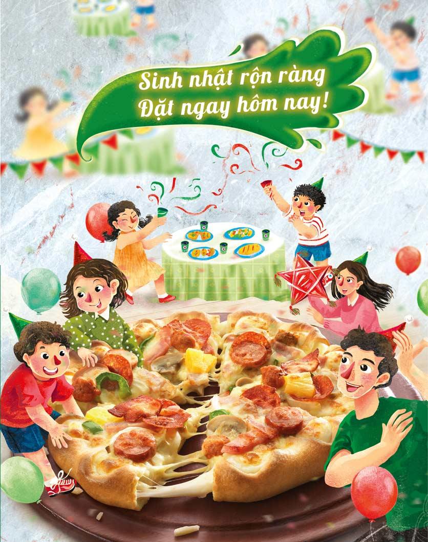 Menu The Pizza Company - Phạm Văn Đồng 26