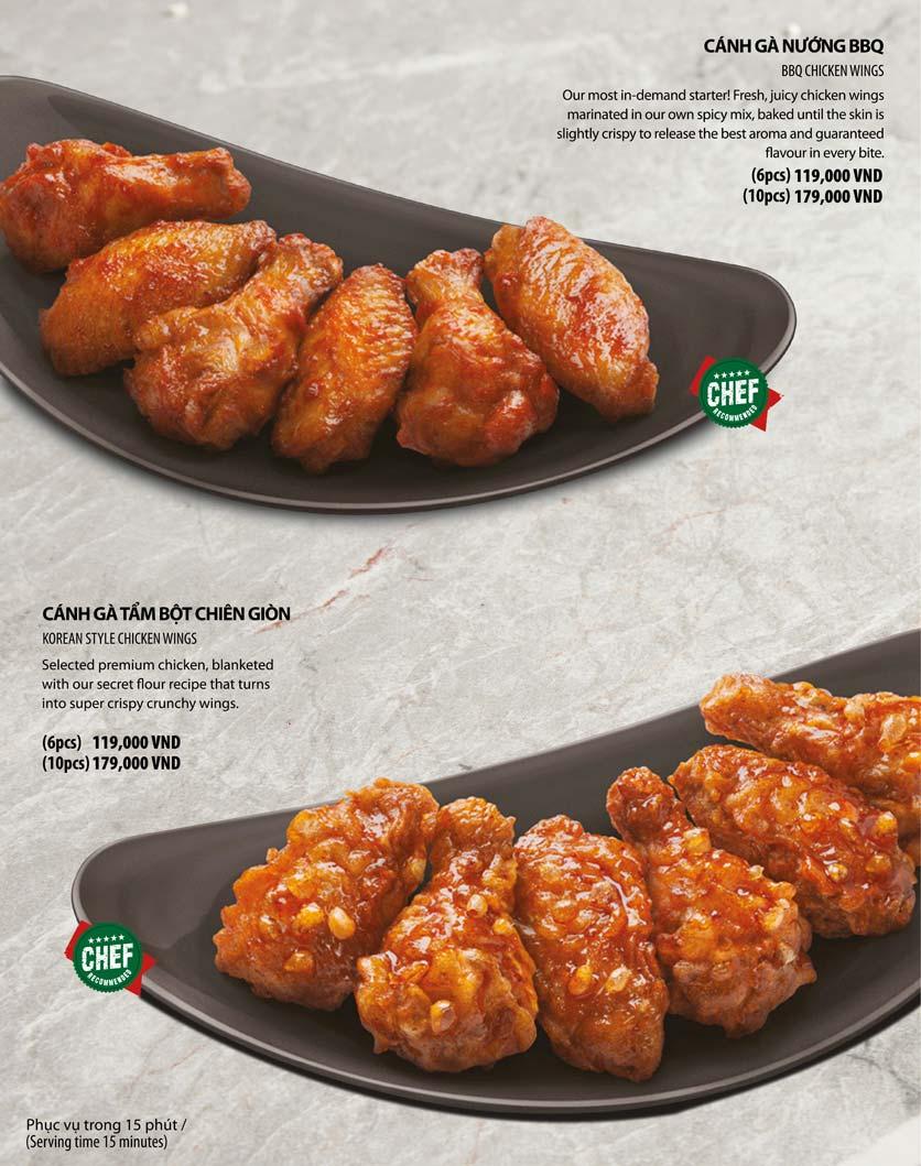 Menu The Pizza Company – Đường 23 tháng 10   4