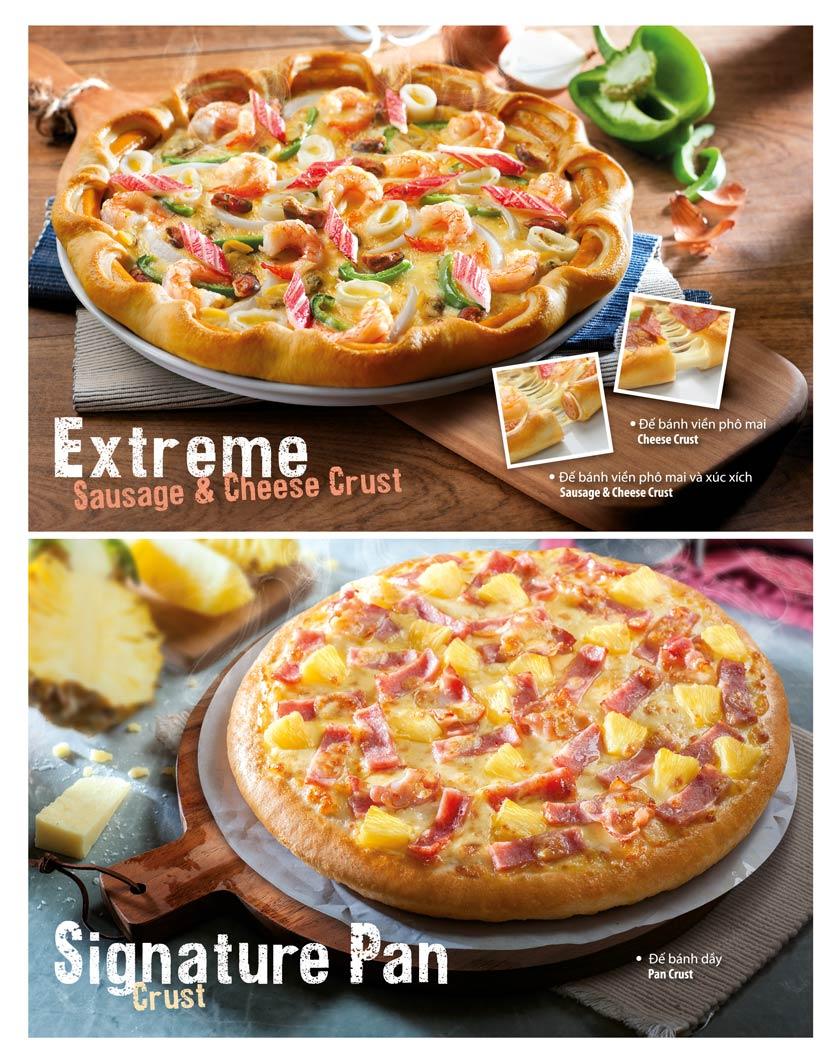 Menu The Pizza Company - Phạm Văn Đồng 9