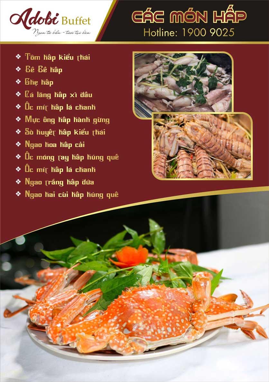 Menu Adobi Buffet - Nguyễn Cơ Thạch 2