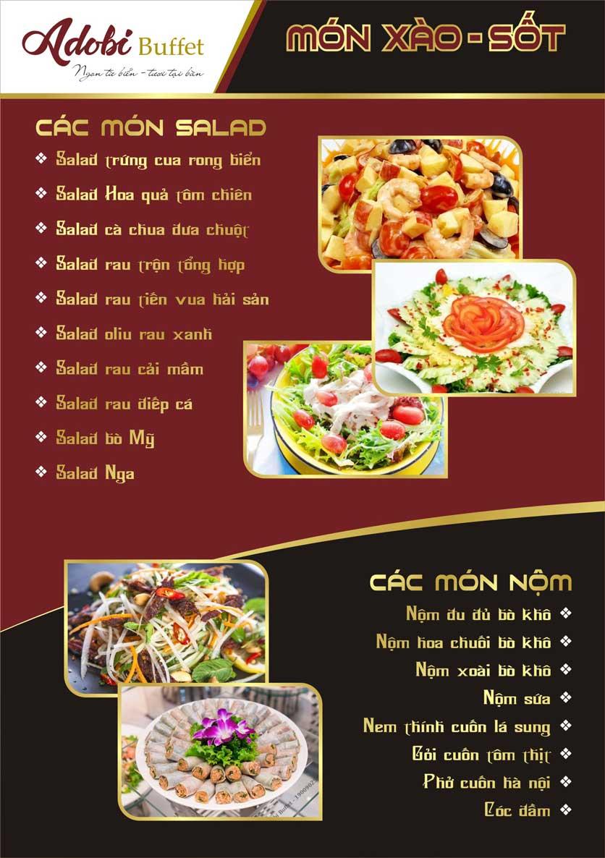 Menu Adobi Buffet - Nguyễn Cơ Thạch 4