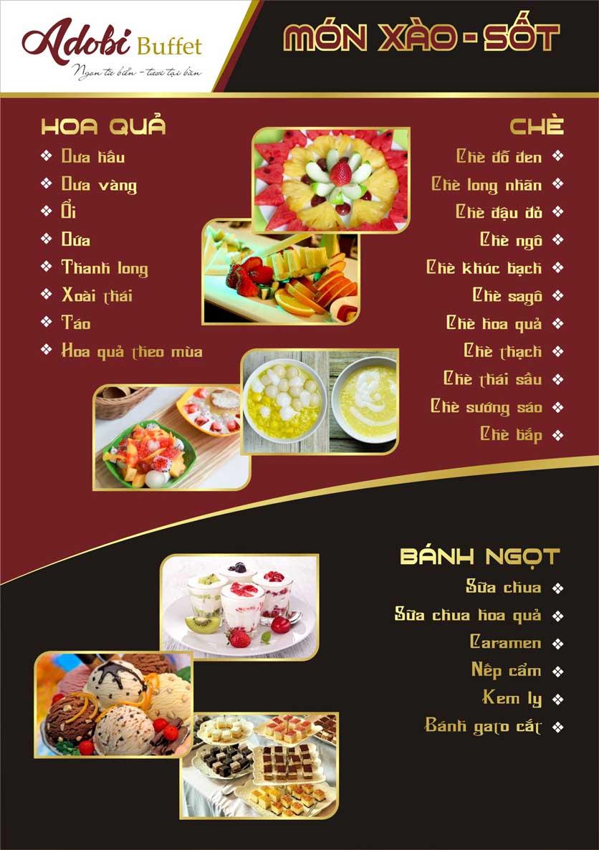 Menu Adobi Buffet - Nguyễn Cơ Thạch 5