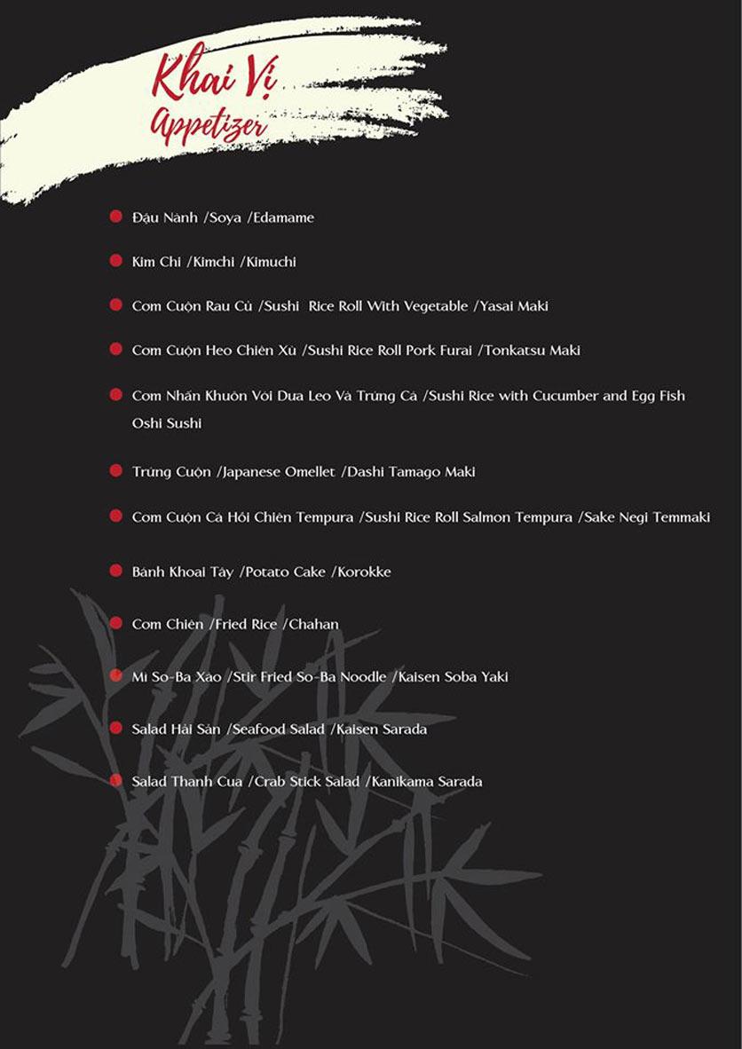 Menu Akira BBQ - Trần Hưng Đạo   1