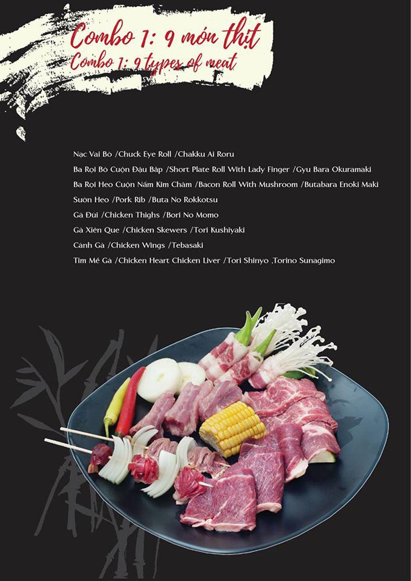 Menu Akira BBQ - Trần Hưng Đạo   3