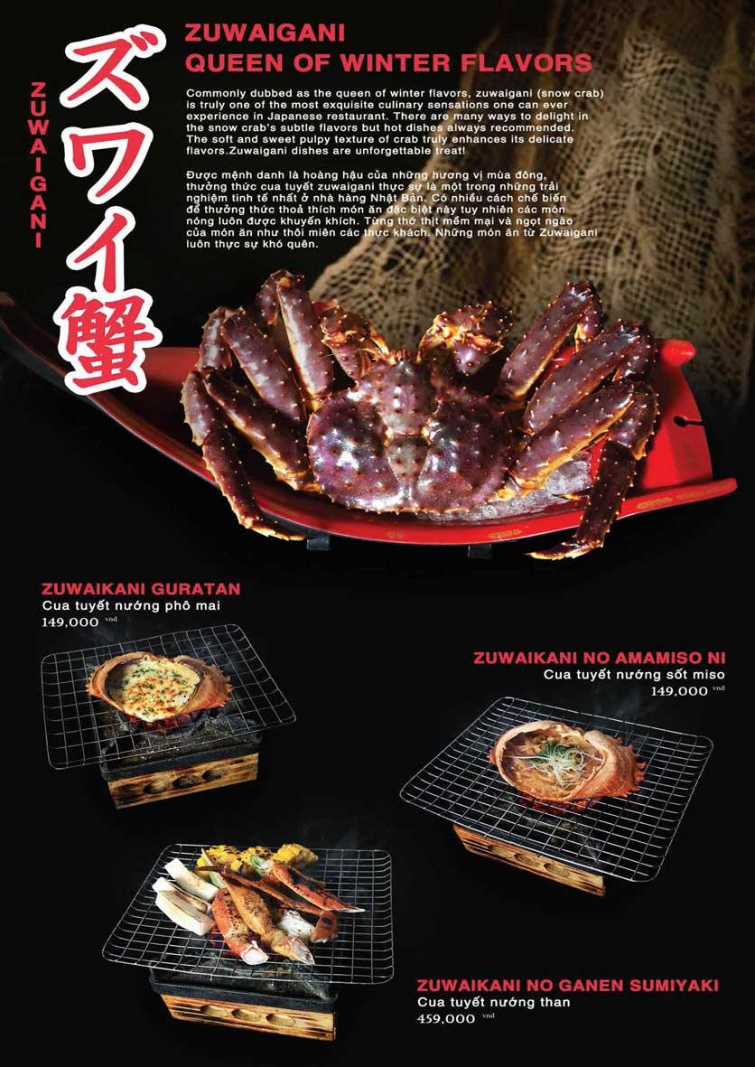 Menu Akira Sushi - Trần Phú   10
