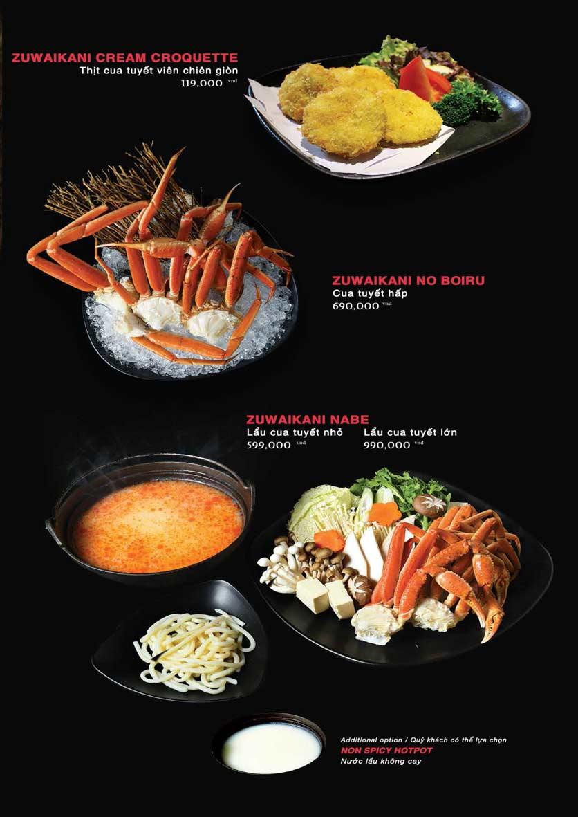 Menu Akira Sushi - Trần Phú   11