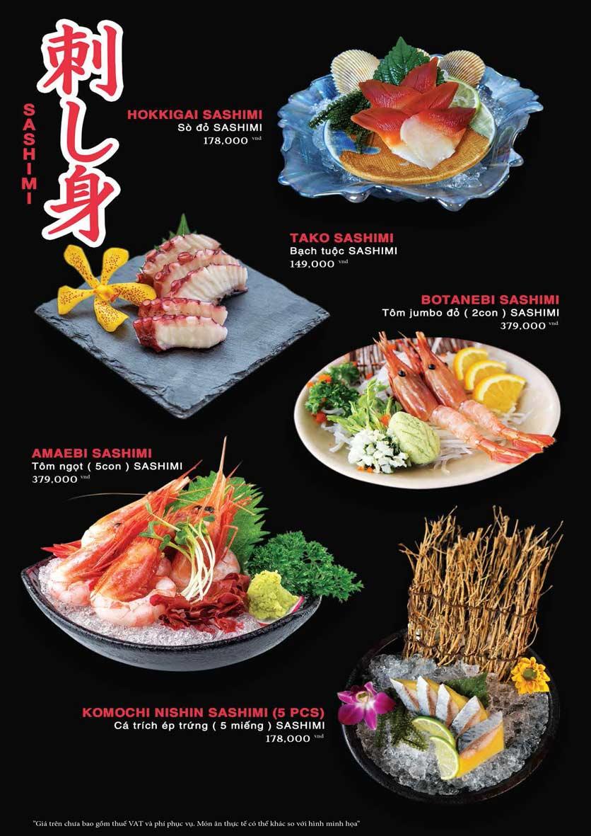 Menu Akira Sushi - Trần Phú   14