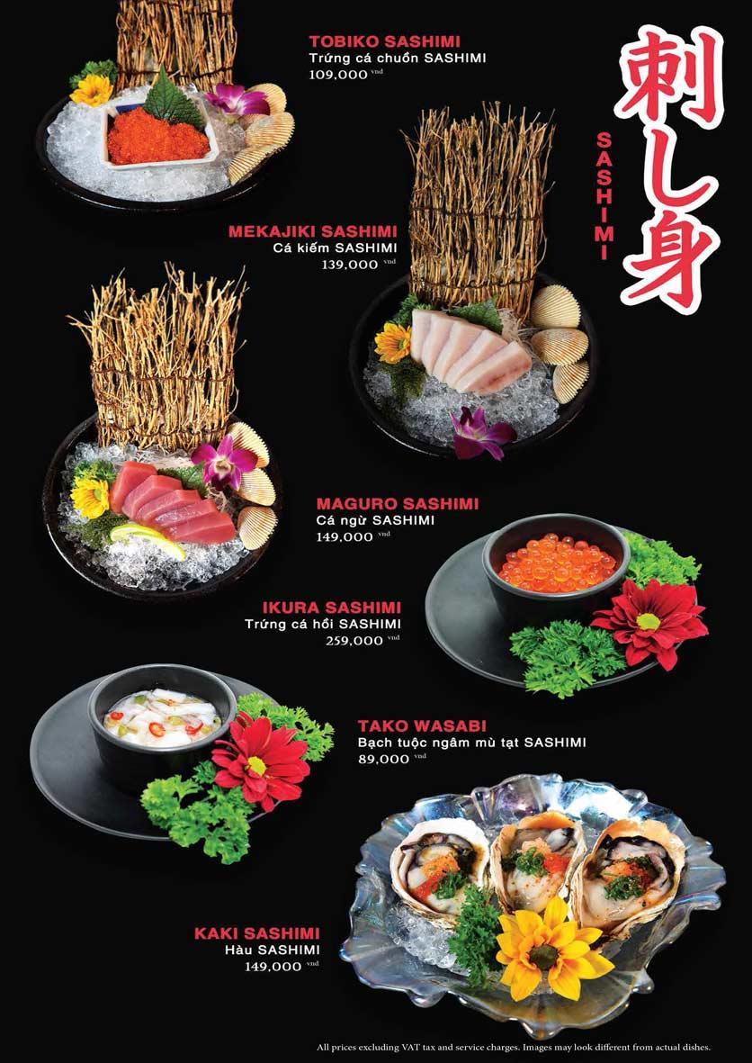 Menu Akira Sushi - Trần Phú   15