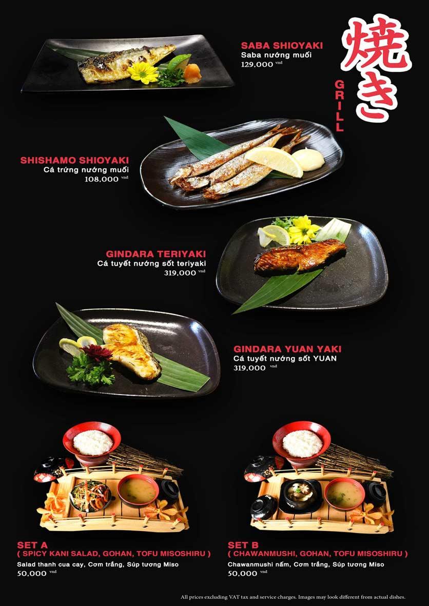 Menu Akira Sushi - Trần Phú   23