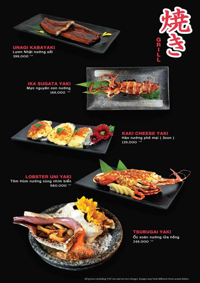 Menu Akira Sushi - Trần Phú   25