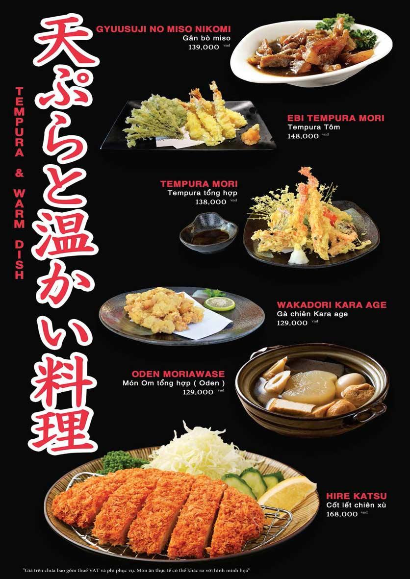 Menu Akira Sushi - Trần Phú   26