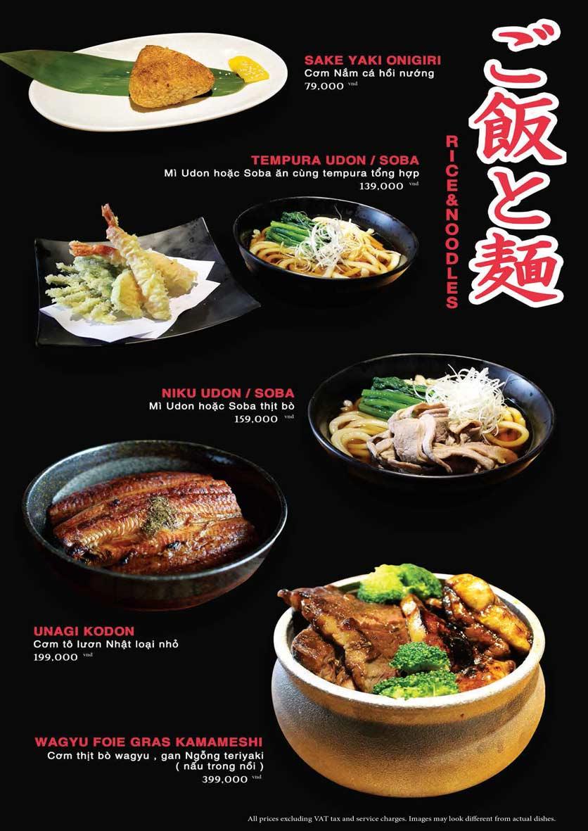 Menu Akira Sushi - Trần Phú   27