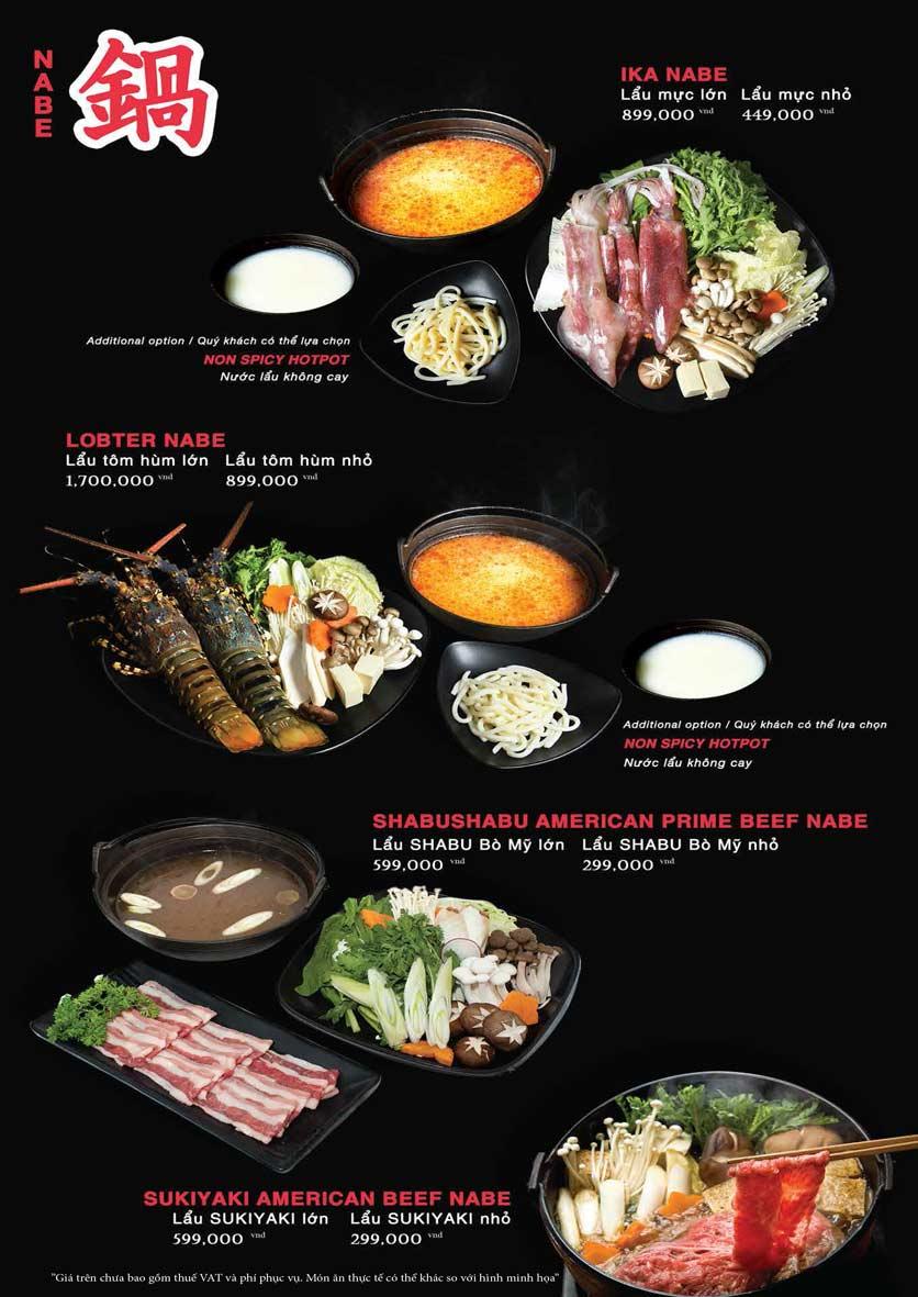 Menu Akira Sushi - Trần Phú   28