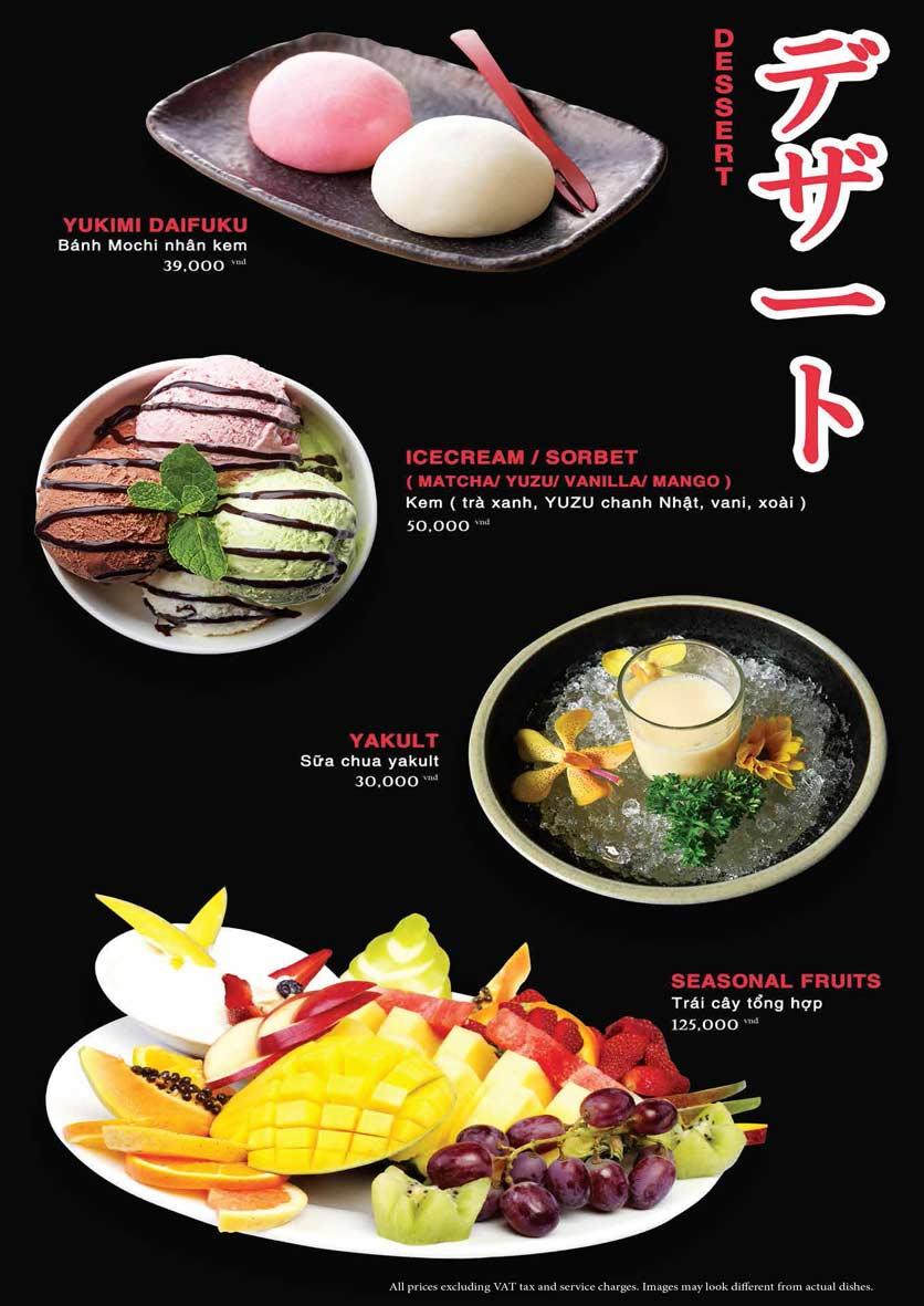 Menu Akira Sushi - Trần Phú   29