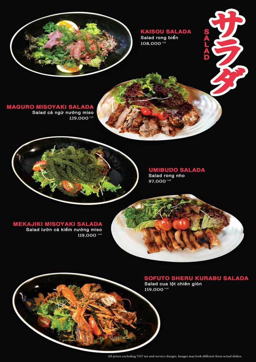 Menu Akira Sushi - Trần Phú   3