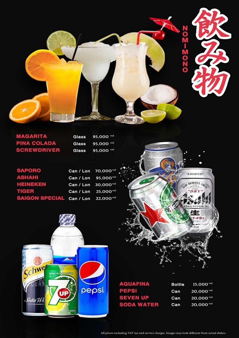 Menu Akira Sushi - Trần Phú   33