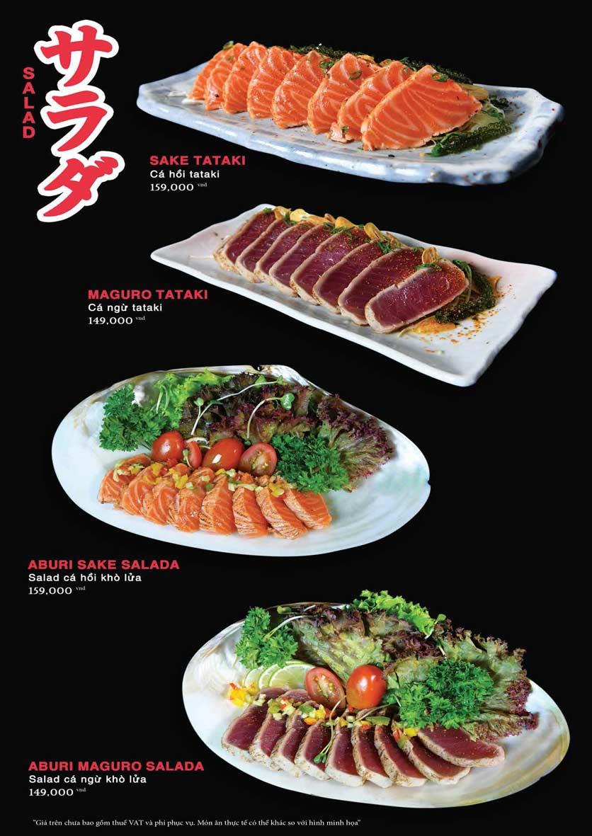 Menu Akira Sushi - Trần Phú   4