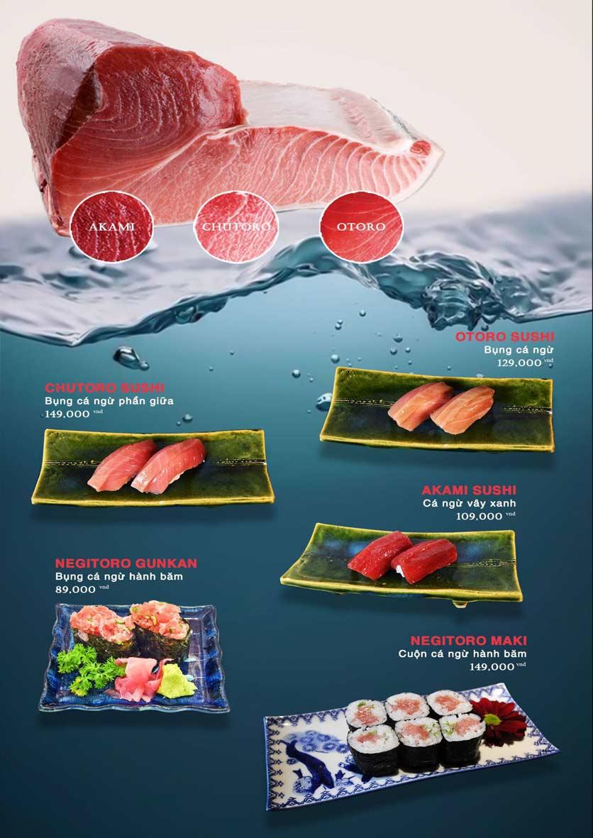 Menu Akira Sushi - Trần Phú   7
