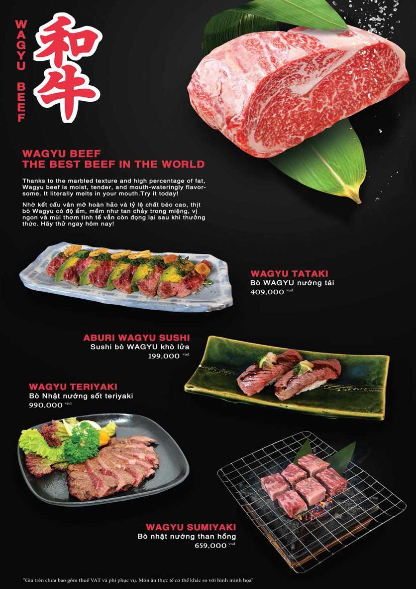 Menu Akira Sushi - Trần Phú   8