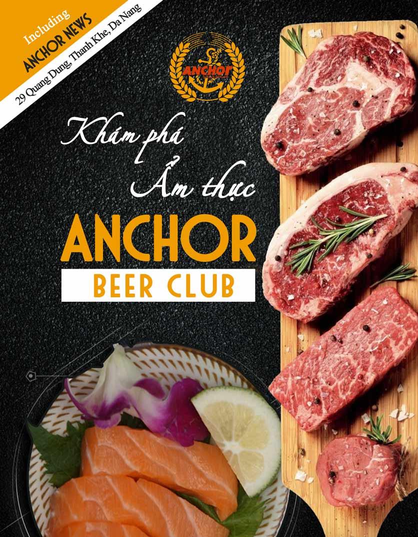 Menu Anchor Beer Club – Quang Dũng 1