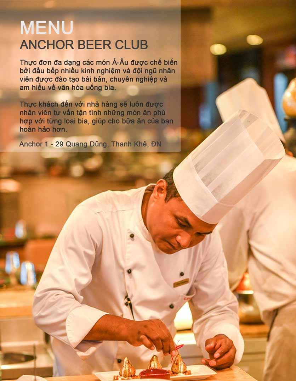 Menu Anchor Beer Club – Quang Dũng 2