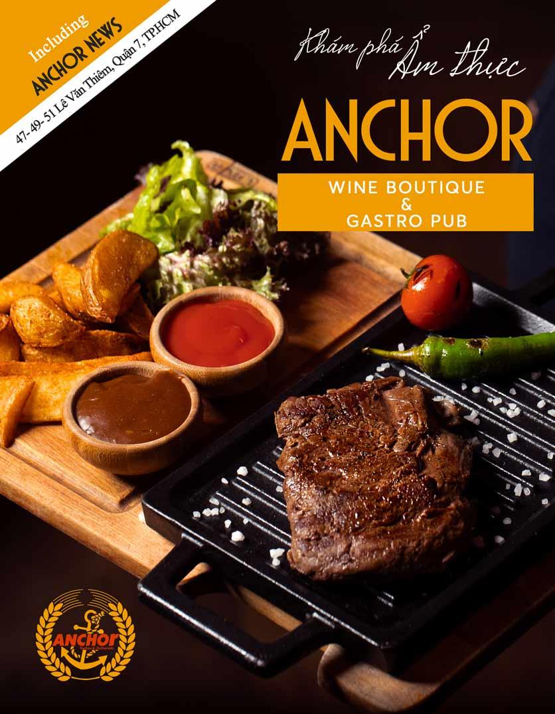 Menu Anchor Wine Boutique & Gastro Pub - Lê Văn Thiêm  1