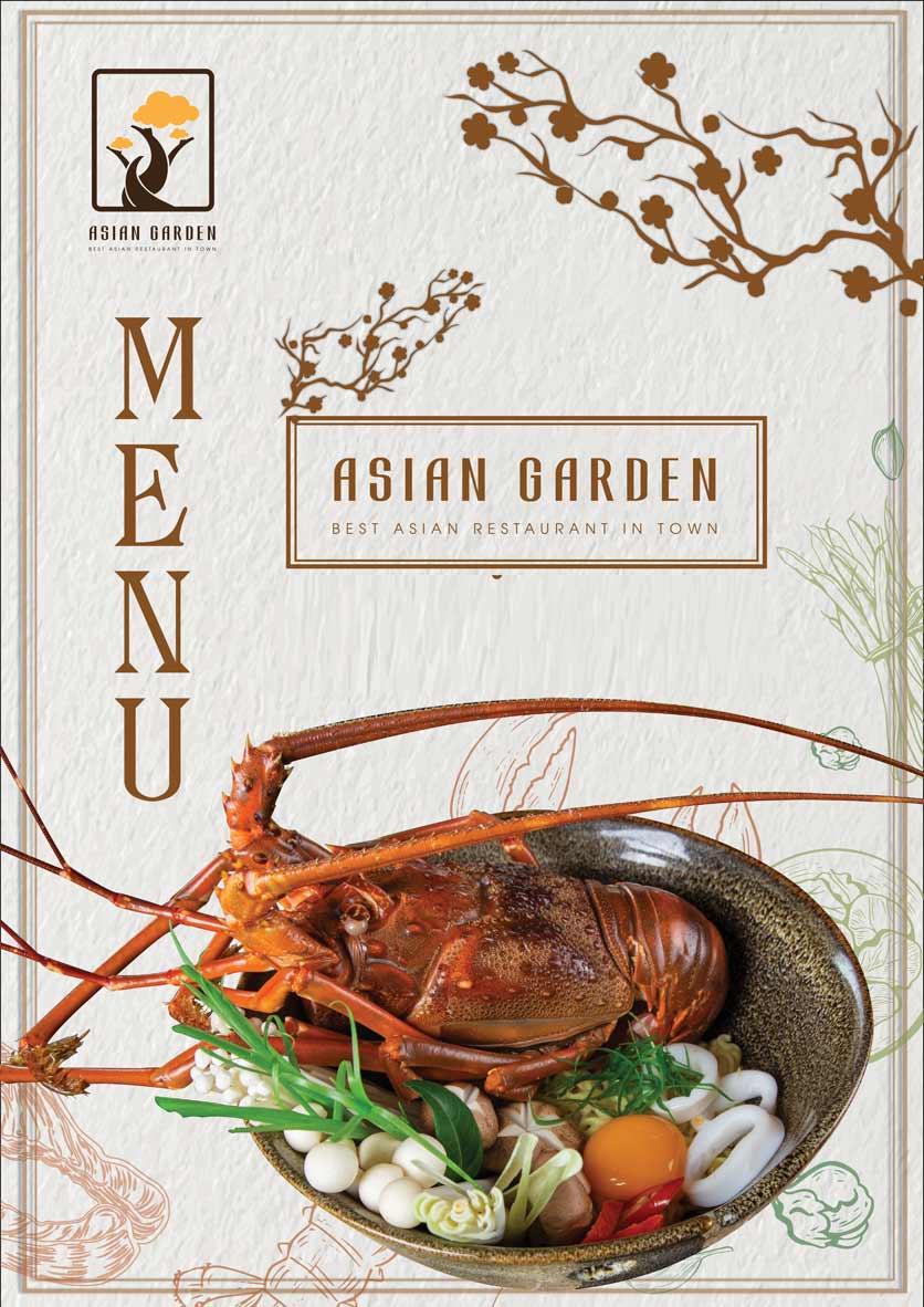 Menu Asian Garden - Láng Hạ 1