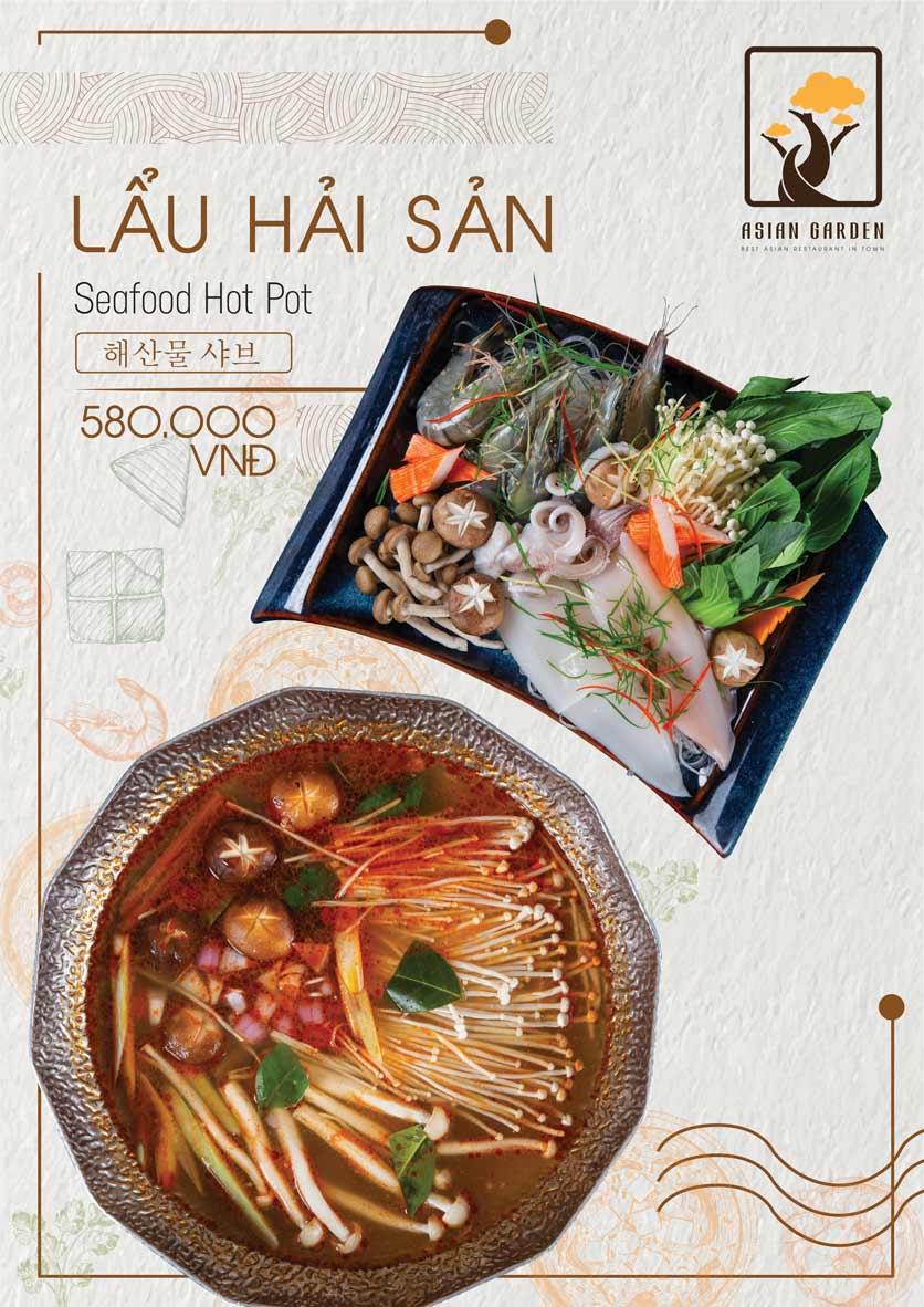 Menu Asian Garden - Láng Hạ 18