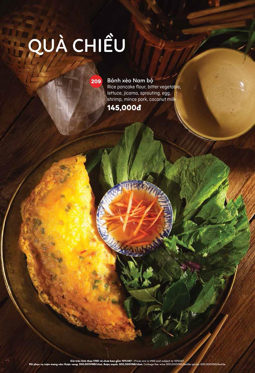 Menu Ầu Ơ – Vietnam Kitchen – Lý Thường Kiệt  1