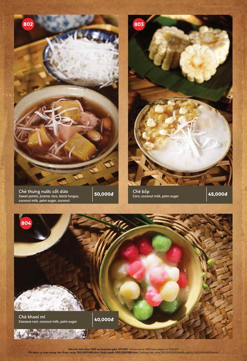 Menu Ầu Ơ – Vietnam Kitchen – Lý Thường Kiệt  10