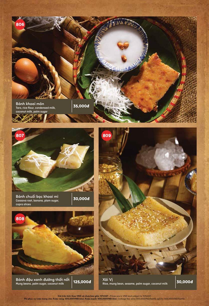 Menu Ầu Ơ – Vietnam Kitchen – Lý Thường Kiệt  12