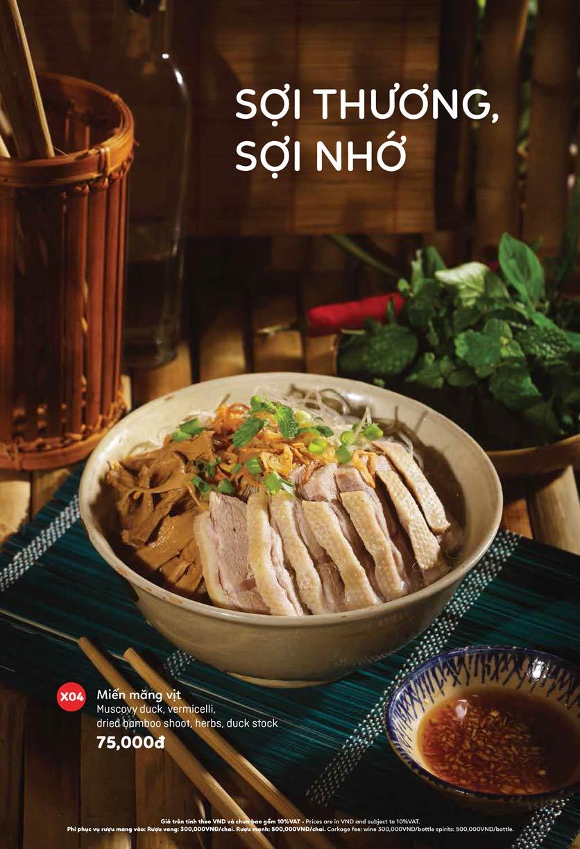 Menu Ầu Ơ – Vietnam Kitchen – Lý Thường Kiệt  3