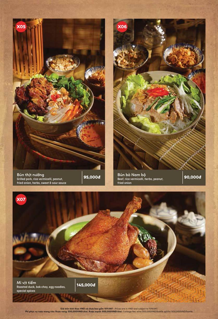 Menu Ầu Ơ – Vietnam Kitchen – Lý Thường Kiệt  4