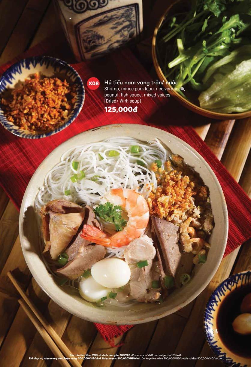 Menu Ầu Ơ – Vietnam Kitchen – Lý Thường Kiệt  5
