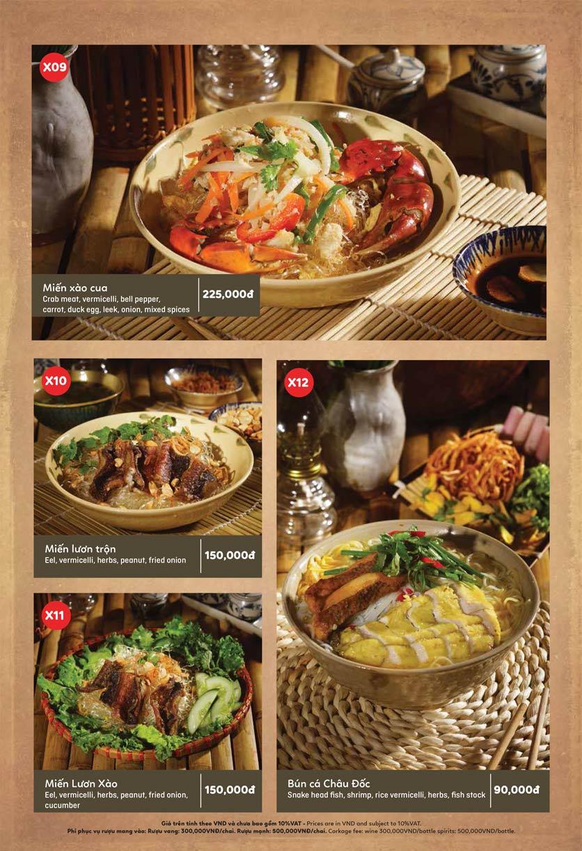 Menu Ầu Ơ – Vietnam Kitchen – Lý Thường Kiệt  6