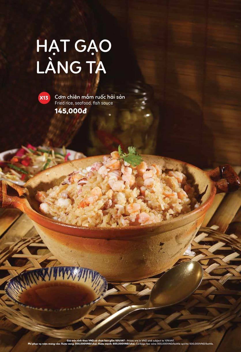 Menu Ầu Ơ – Vietnam Kitchen – Lý Thường Kiệt  7