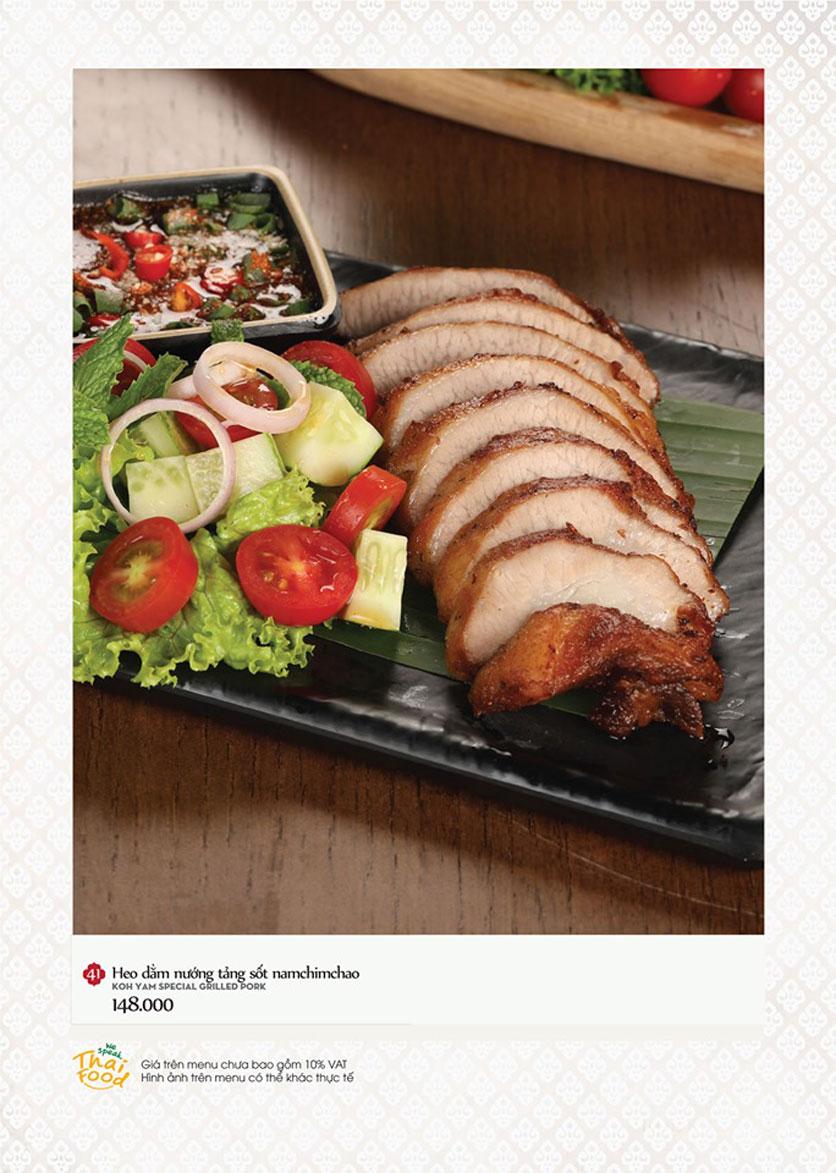 Menu Bếp Thái Koh Yam - Thái Hà 13