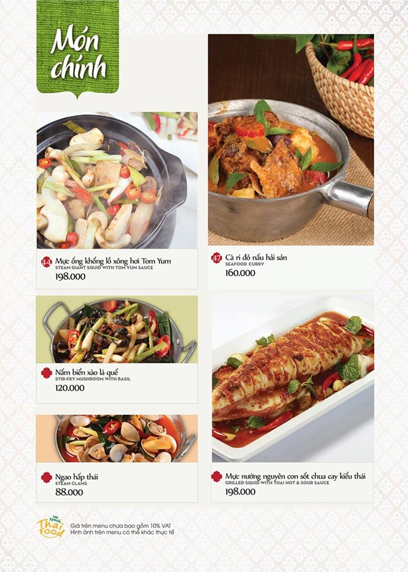 Menu Bếp Thái Koh Yam - Bà Triệu  15