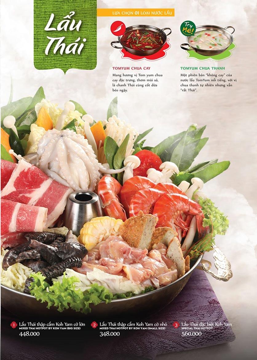Menu Bếp Thái Koh Yam - Bà Triệu  20