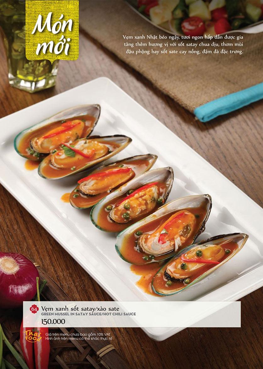 Menu Bếp Thái Koh Yam - Thái Hà 5