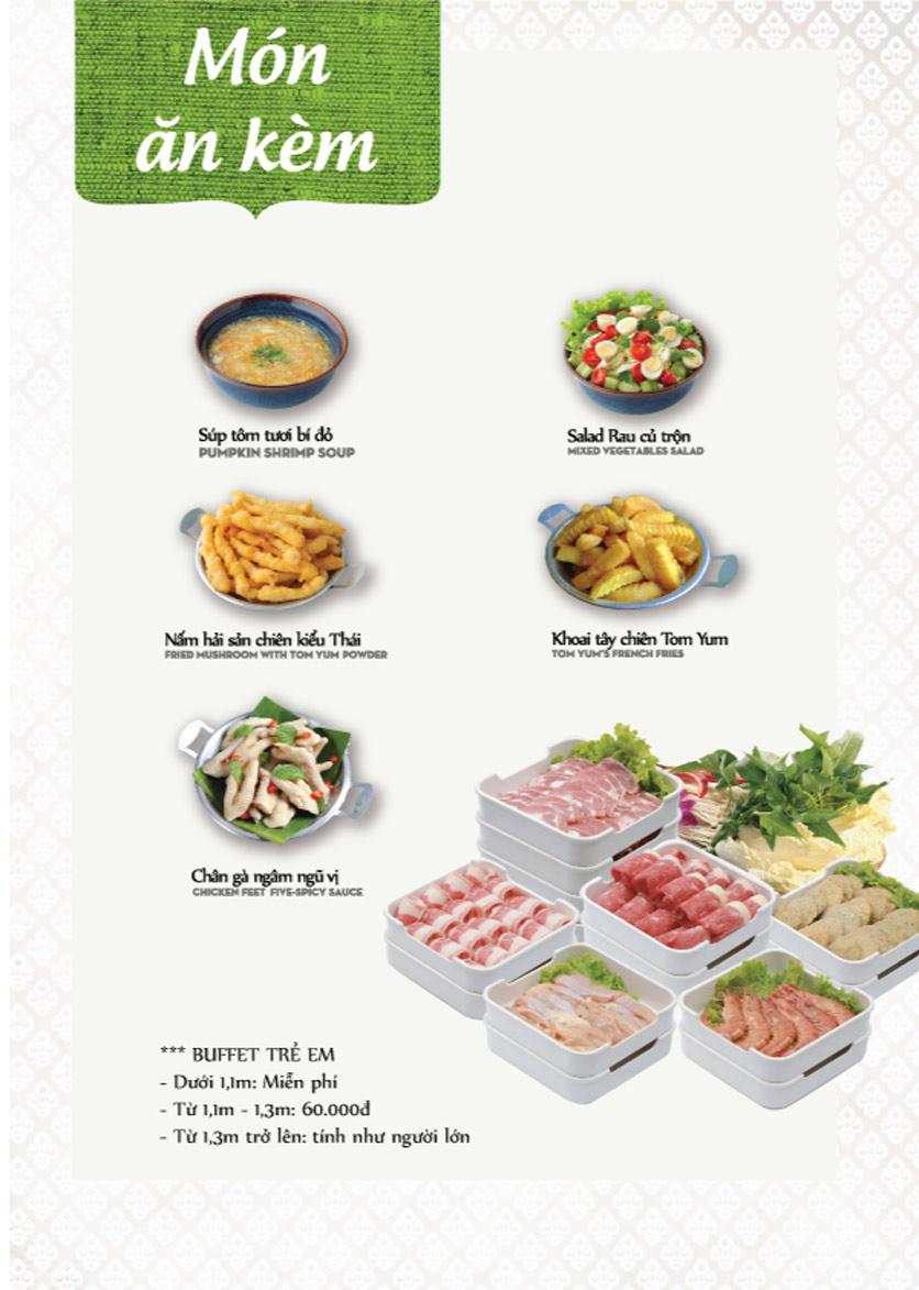 Menu Bếp Thái Koh Yam - Thái Hà 3