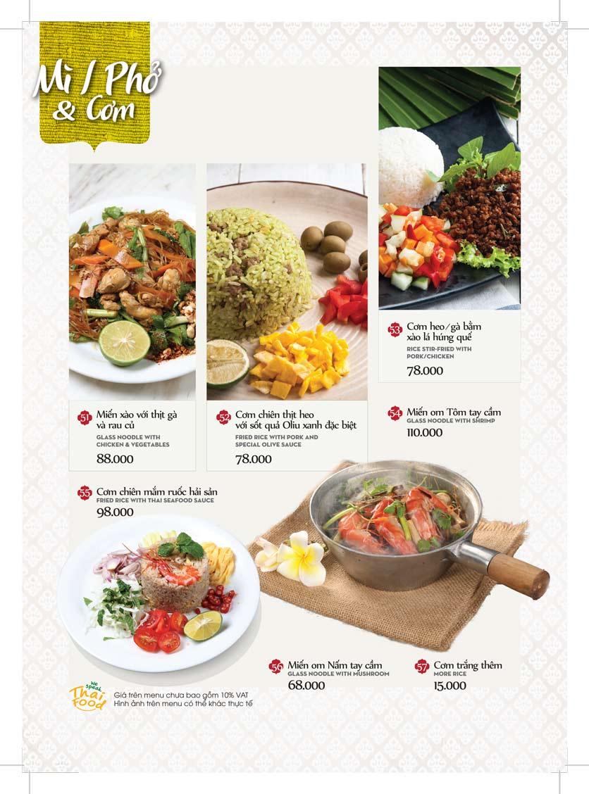Menu Bếp Thái Koh Yam - Bà Triệu  18