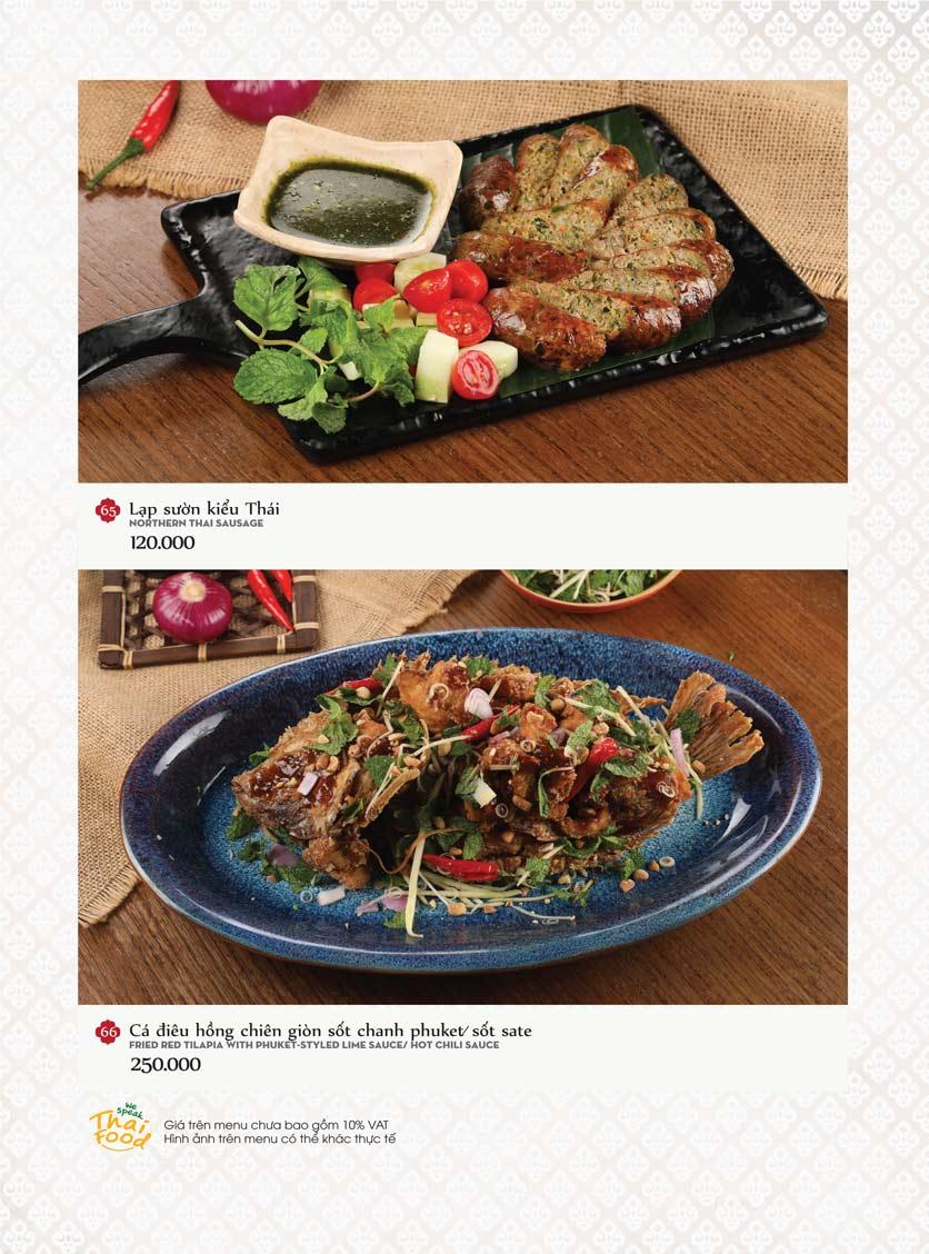 Menu Bếp Thái Koh Yam - Bà Triệu  22