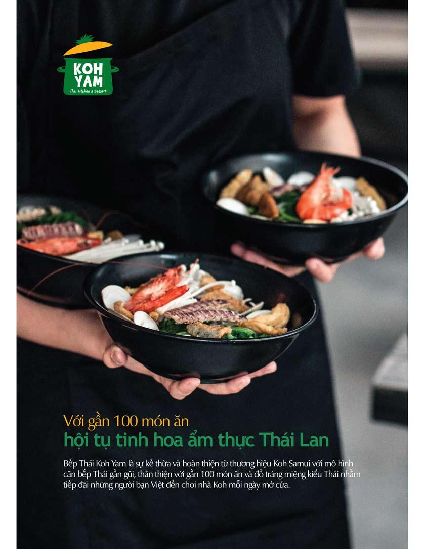 Menu Bếp Thái Koh Yam - Bà Triệu  5