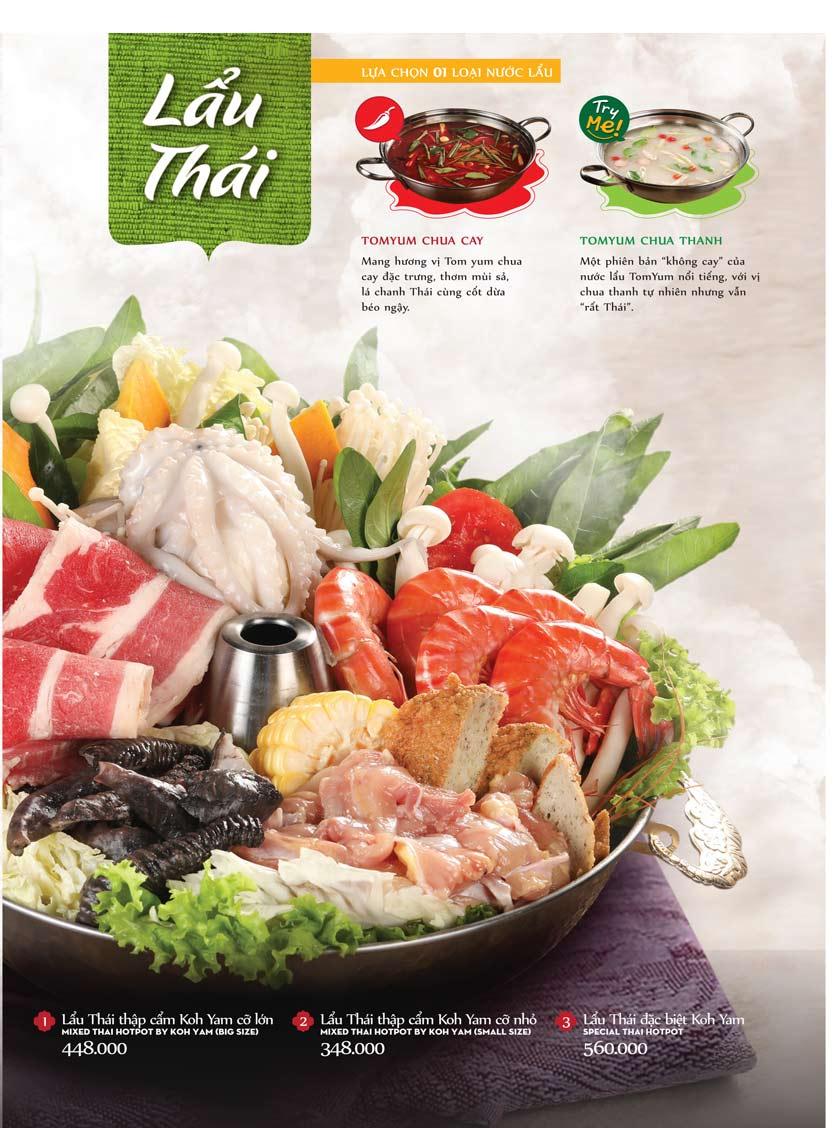 Menu Bếp Thái Koh Yam - Bà Triệu  23